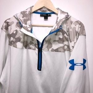 UNDER ARMOUR LOOSE HOODIE-EXCELLENT-CAMO-XL